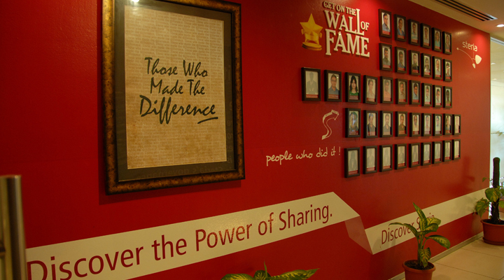 Corporate Environments Wall Of Fame Vdis India Pvt Ltd