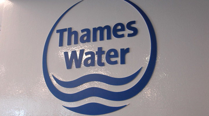 Signage Corporate Environments Thames Water