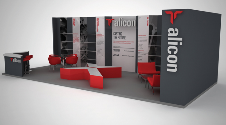 Exhibition Identity Alicon