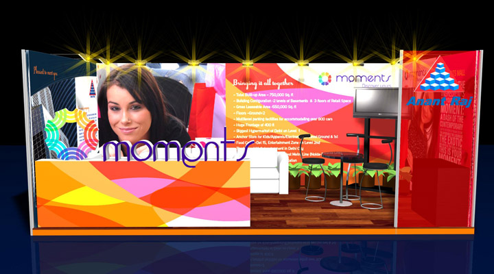 Exhibition Identity Moments Mall