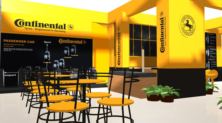Retail Display Continental