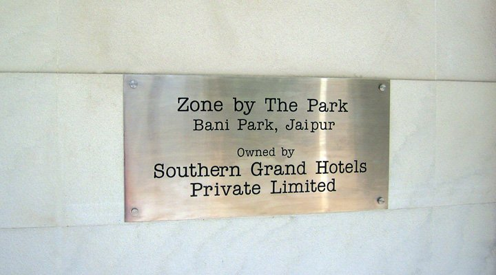 SS Plate Signage