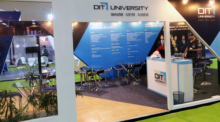 Exhibition Display Solution + Design & Production + Project Management & Implementation, Dehradun Institute of Technology