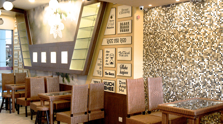 Space Design + Retail Environment & Engineering Design + In-Store Communication & Signage + Production & Project Management & Implementation, Cafe Do Ghoont, Greater Noida