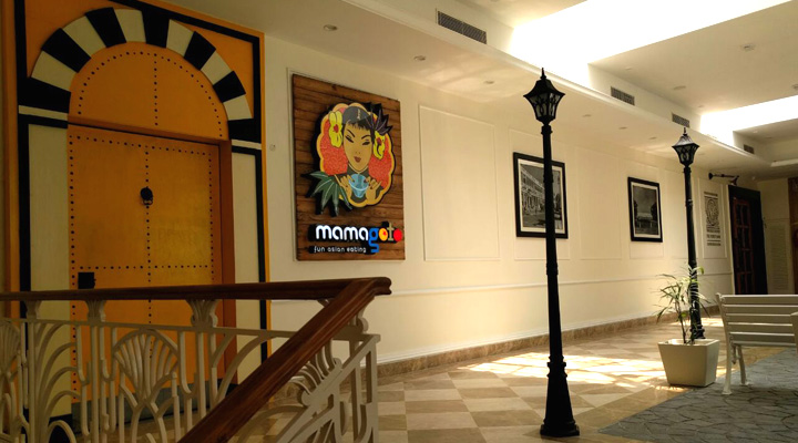 Signage Design & Implementation For Mamagoto Connaught Place