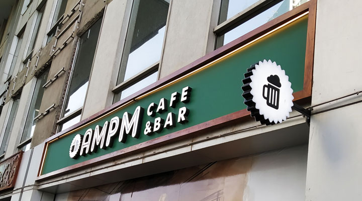 Primary Signage for Cafe