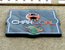 Charcoal – Restaurant Signage