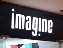 Imagine Store Saket New Delhi – Signage