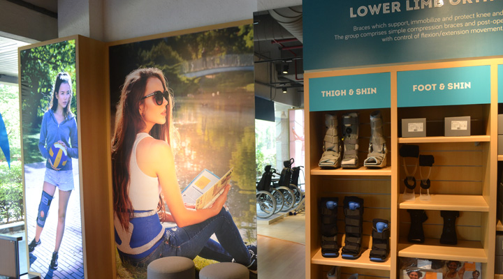 Retail Display & Spatial Experience Freedom Store