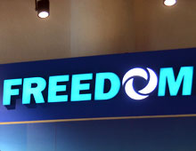 Freedom – Retail Display