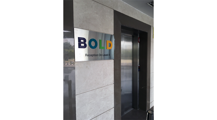 Signage For Bold