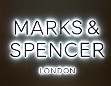Marks & Spencer – Signage