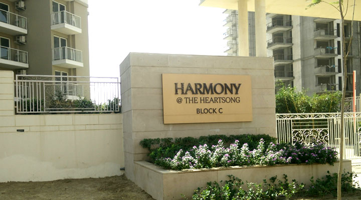 Signage + Material Planning + Engineering + Production + Project Management and Implementation for Harmony-at-the-Heartsong